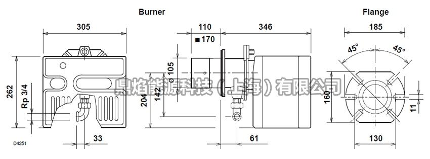 40FS10/M,FS20/M 定型机燃烧器